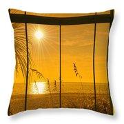 Paradise View II Throw Pillow