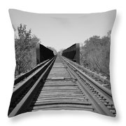 Parallelism Throw Pillow