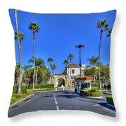 Paramount Movie Studio Hollywood Ca 3 Throw Pillow