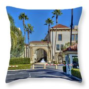 Paramount Movie Studio Hollywood Ca 4 Throw Pillow