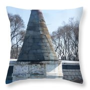 Parapet From The El Throw Pillow