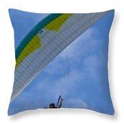 Parasail Throw Pillow