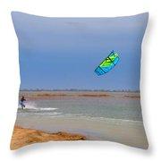 Parasurfer3 Throw Pillow