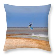 Parasurfer4 Throw Pillow