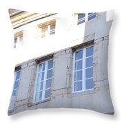 Windows In Shade Throw Pillow