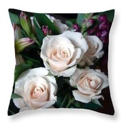Pardon My Blush Throw Pillow