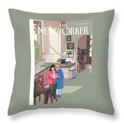 Mothers' Day Throw Pillow