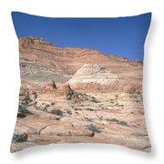 Paria Canyon-vermilion Cliffs Throw Pillow