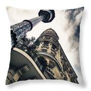 Paris - Lanterns In Paris Throw Pillow