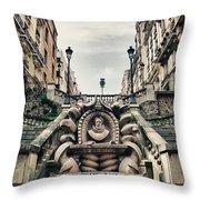 Paris - Statue Throw Pillow