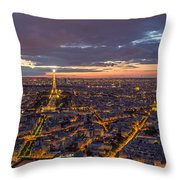 Paris - Tour Montparnasse 2 Throw Pillow