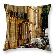 Paris Afternoon Throw Pillow