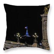 Viva La France Throw Pillow