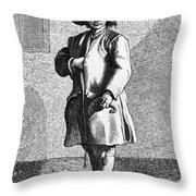 Paris Chimney Sweep, C1740 Throw Pillow