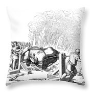 Paris Fete, 16th Century Throw Pillow