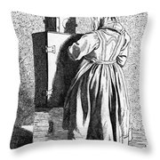 Paris Magic Lantern, C1740 Throw Pillow