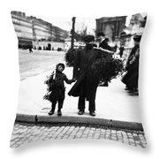 Paris Mistletoe, C1900 Throw Pillow