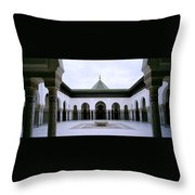 The Paris Mosque Throw Pillow