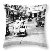 Paris Neuilly Fair, C1900 Throw Pillow