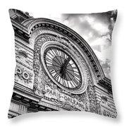 Paris Orleans Throw Pillow