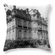 Paris Private Home, 1872 Throw Pillow