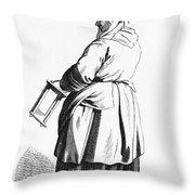 Paris Retailer, C1740 Throw Pillow