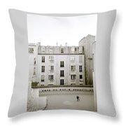 Solitude In Paris Throw Pillow