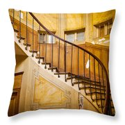 Paris Staircase Throw Pillow
