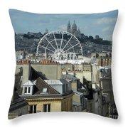 Parisscope Throw Pillow