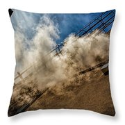 Park Alley Steam Throw Pillow