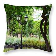Park And Gardens Throw Pillow