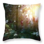 Park Art II Throw Pillow