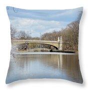 Park Avenue Bridge Throw Pillow