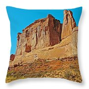 Park Avenue In Arches National Park-utah Throw Pillow