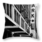 Park... Bw... Detroit Throw Pillow