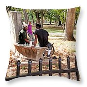 Park Games Throw Pillow