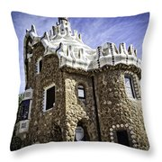 Park Guell - Barcelona - Spain Throw Pillow