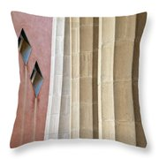Park Guell Pillars Throw Pillow