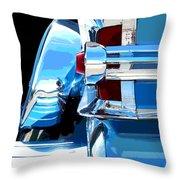 Park Lane Chrome -posterized Throw Pillow