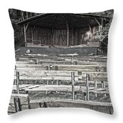 Park Pavilion Stage Throw Pillow