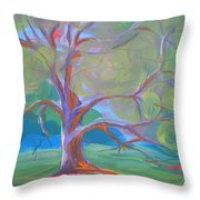 Park Trees 8 Throw Pillow