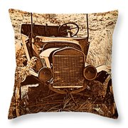 Parked 2 Throw Pillow