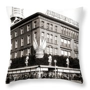 Parker Bridget And Company Department Store - Washington Dc 1921 Throw Pillow