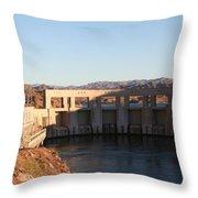 Parker Canyon Dam Throw Pillow