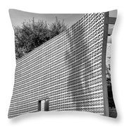 Parker Shadow Palm Springs Throw Pillow
