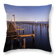 Parking For Miles Throw Pillow