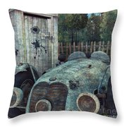Parking Throw Pillow