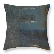 Parking Lot Blues Throw Pillow