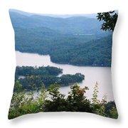 Parksville Lake Throw Pillow