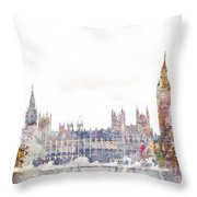 Parliament Color Splash Throw Pillow